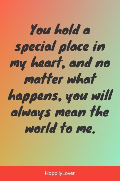 beautiful what you mean to me quotes