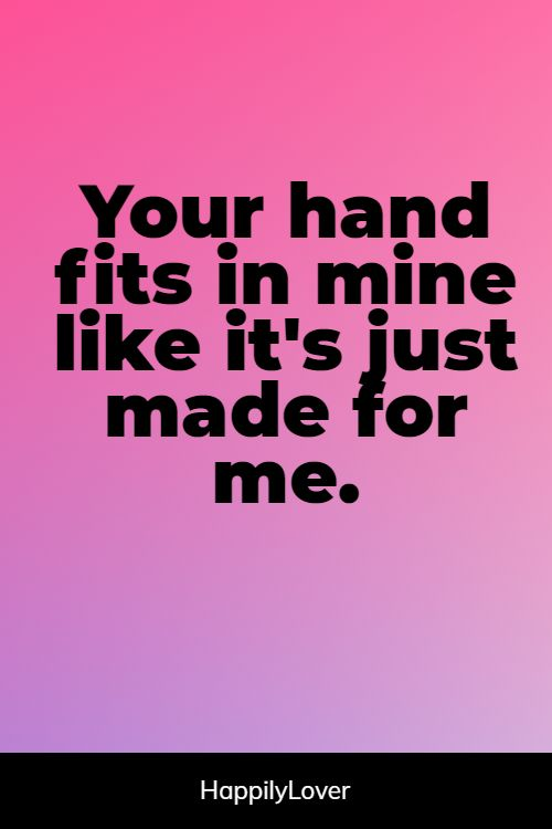 best holding hands quotes