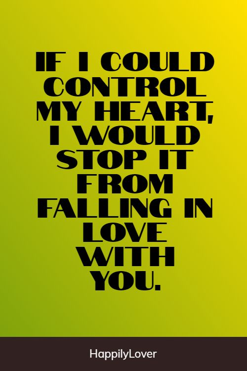 controlable falling in love quotes