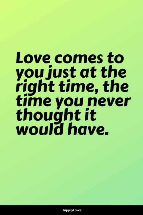 cute unexpected love quotes