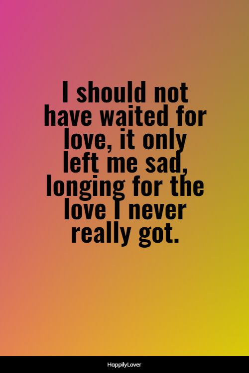 cute waiting for love quotes