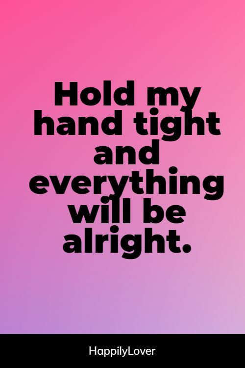 cutest holding hands quotes