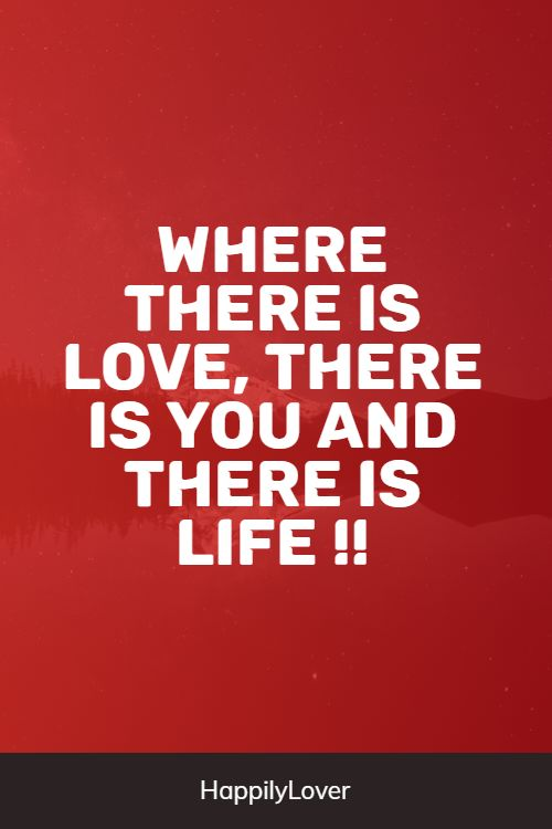 deep love quotes from life