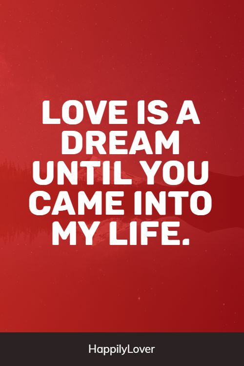 dream love quotes from life