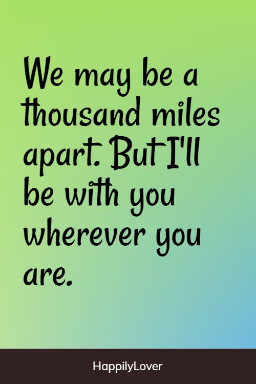 endless long distance relationship quotes