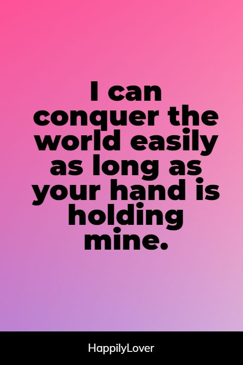 great holding hands quotes