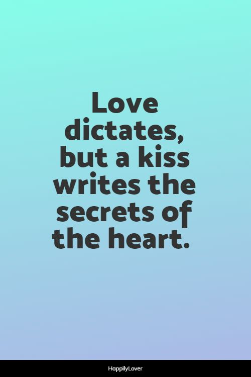 great kissing quotes