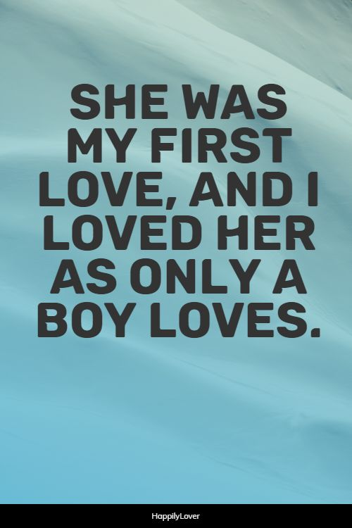 happiest sweet first love quotes
