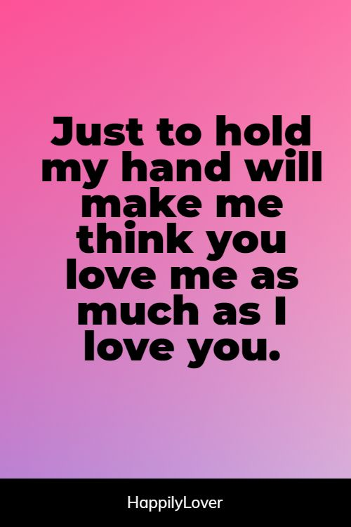 happy holding hands quotes