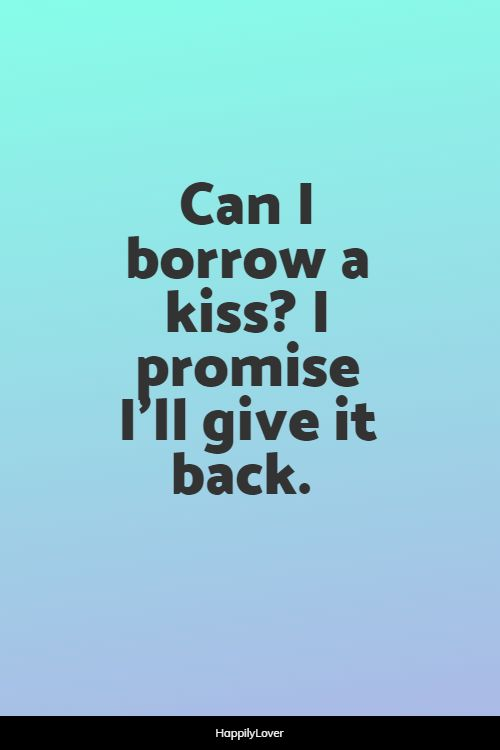 hot kissing quotes