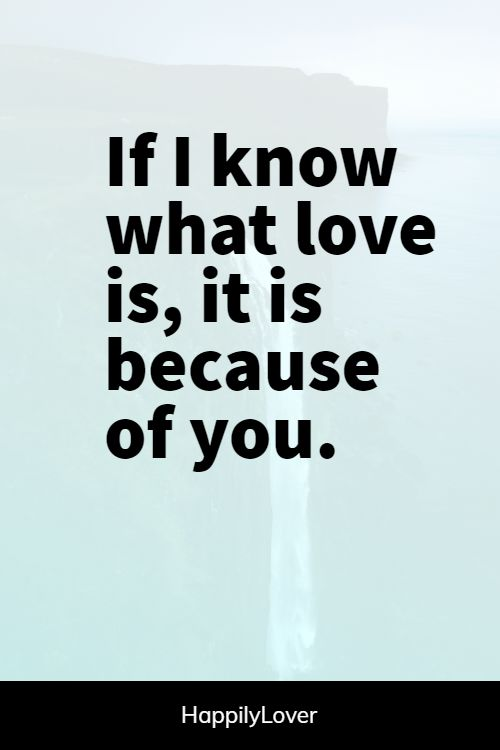 knowing you love someone quotes