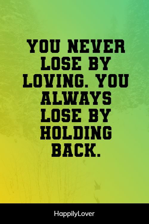 losing i love you quotes