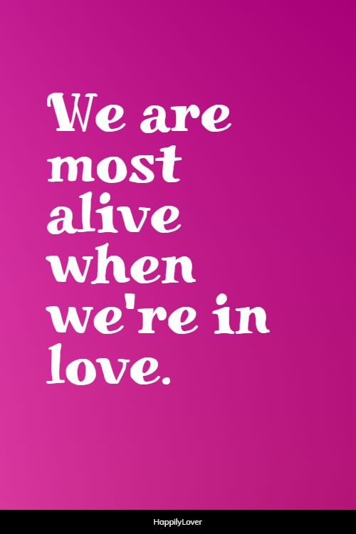 lovely being in love quotes