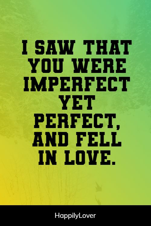 perfect i love you quotes