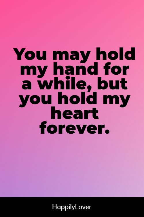 powerful holding hands quotes