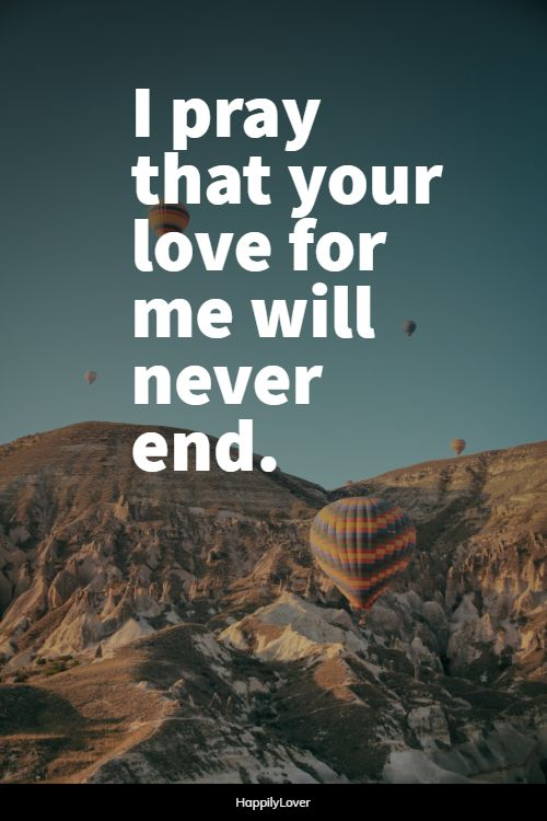 pray forever love quotes