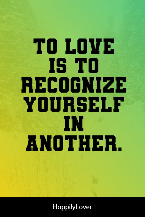 recognizing i love you quotes