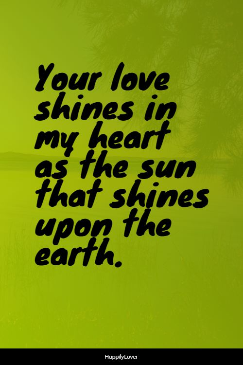 shining new love quotes