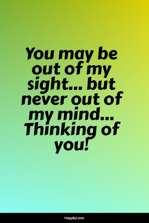 significant thinking of you quotes