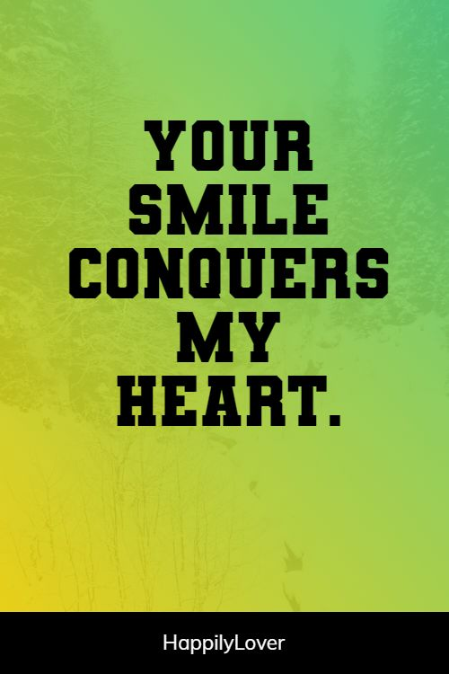 smiling i love you quotes