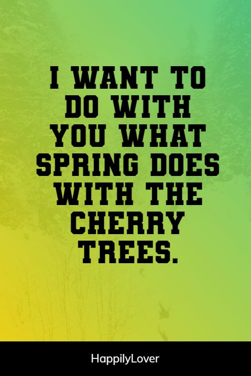 spring i love you quotes
