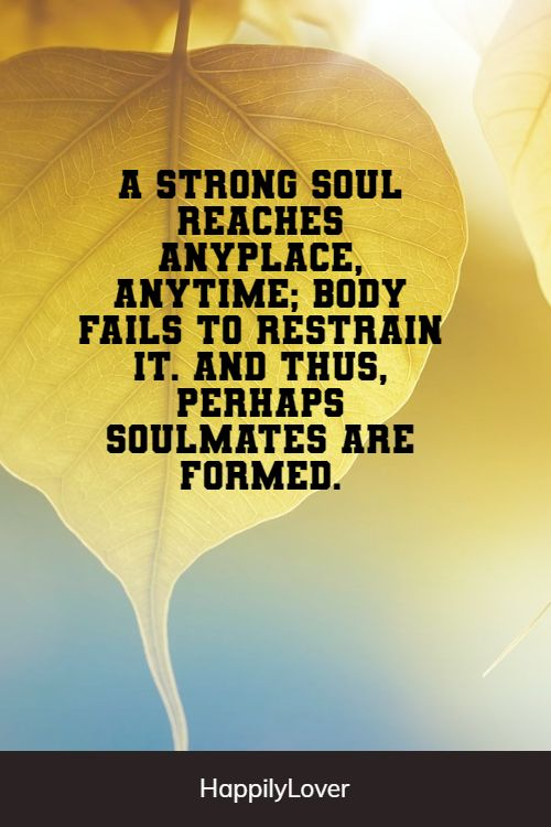 strong soulmate quotes