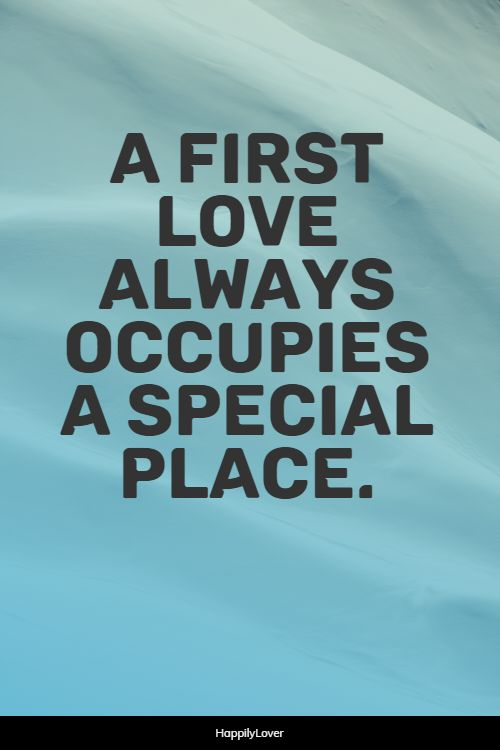 sweet first love quotes