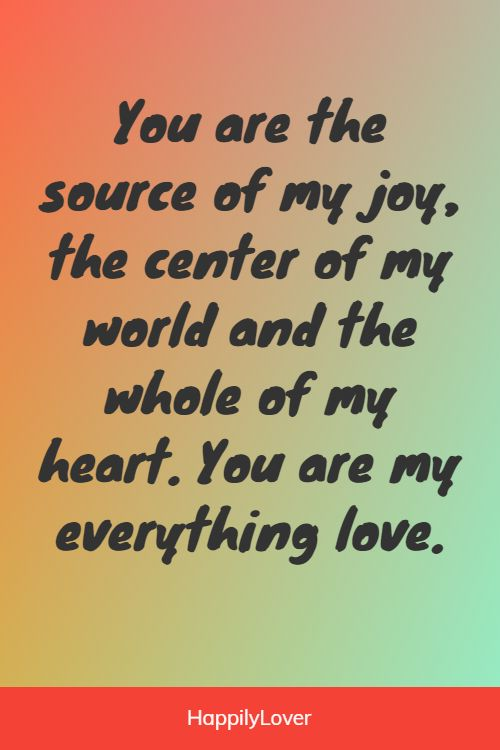 sweet you mean everything to me quotes