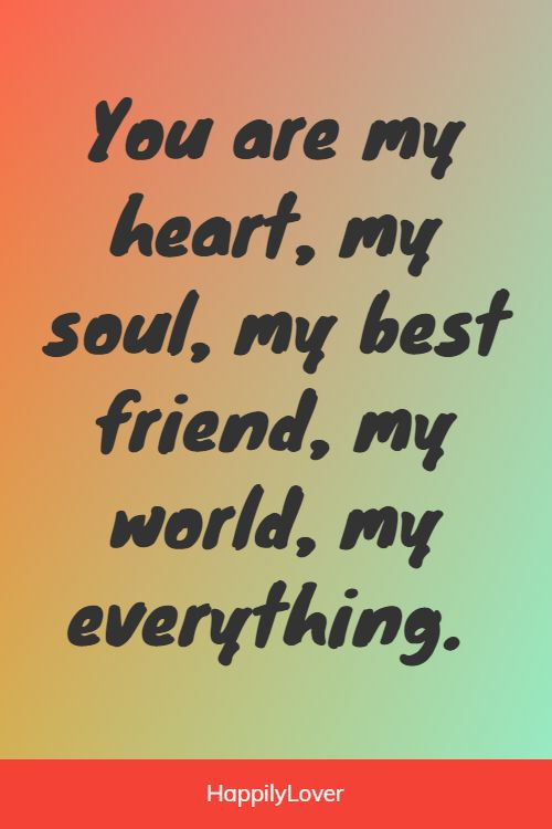 sweetest you mean so much to me quotes
