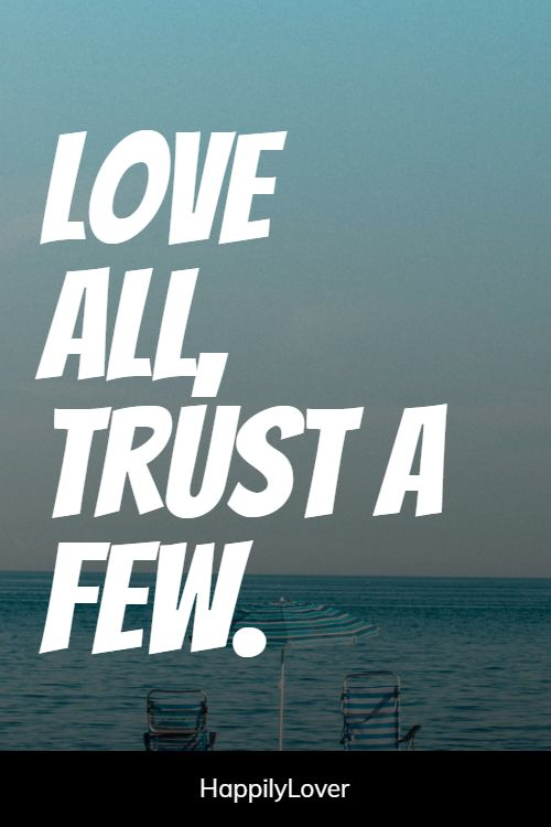 trusted relationship quotes