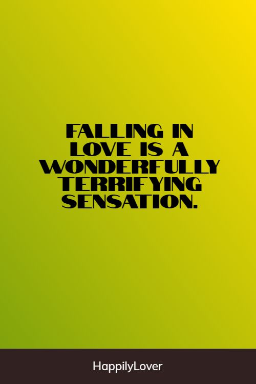 wonderful falling in love quotes