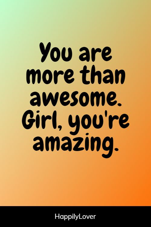 Amazing you re You Are