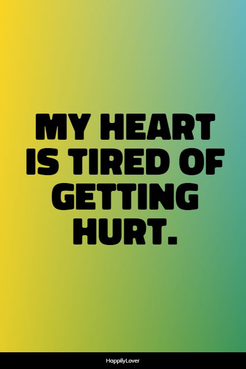 being hurt quotes