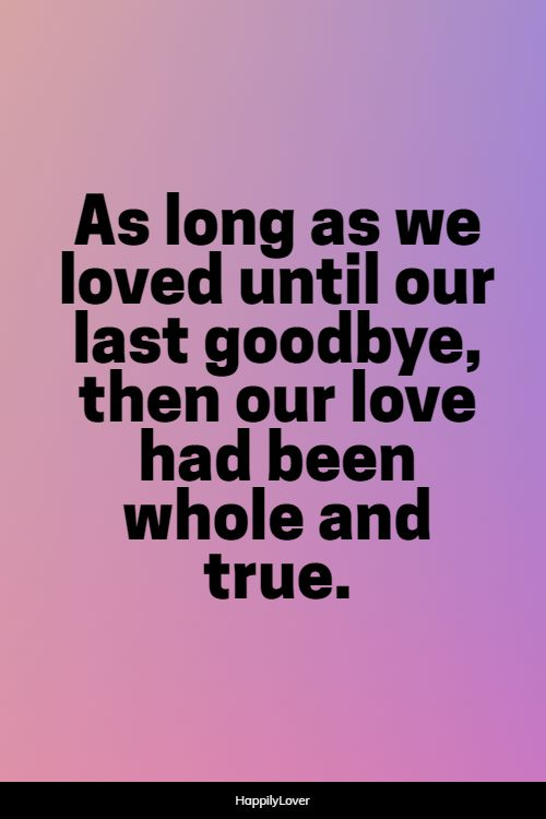 better goodbye quotes