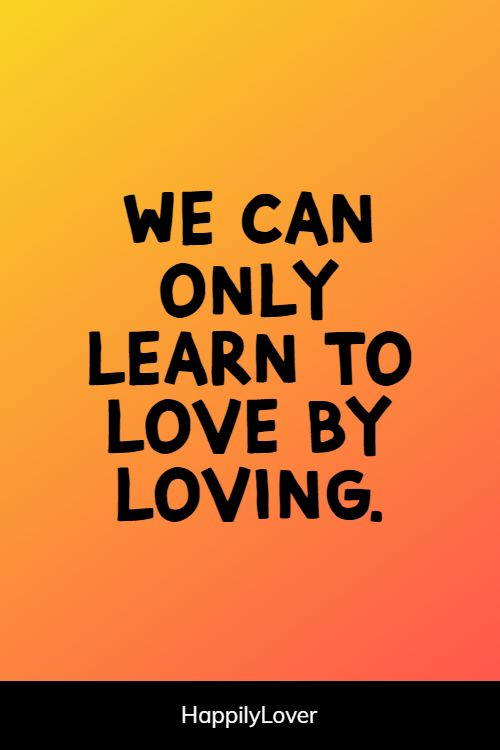 greatest inspirational love quotes