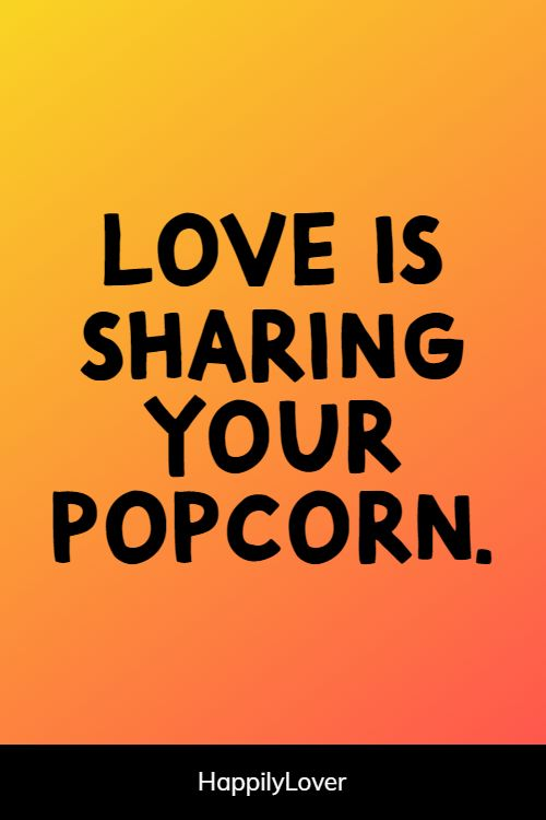 sharing inspirational love quotes