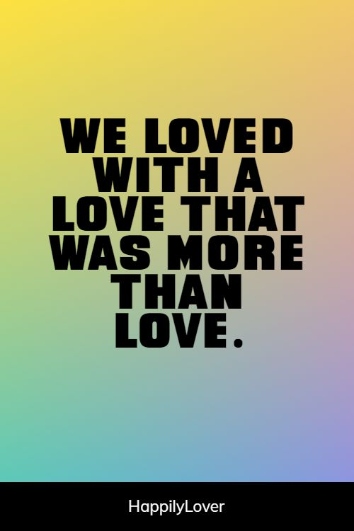 significant love of my life quotes
