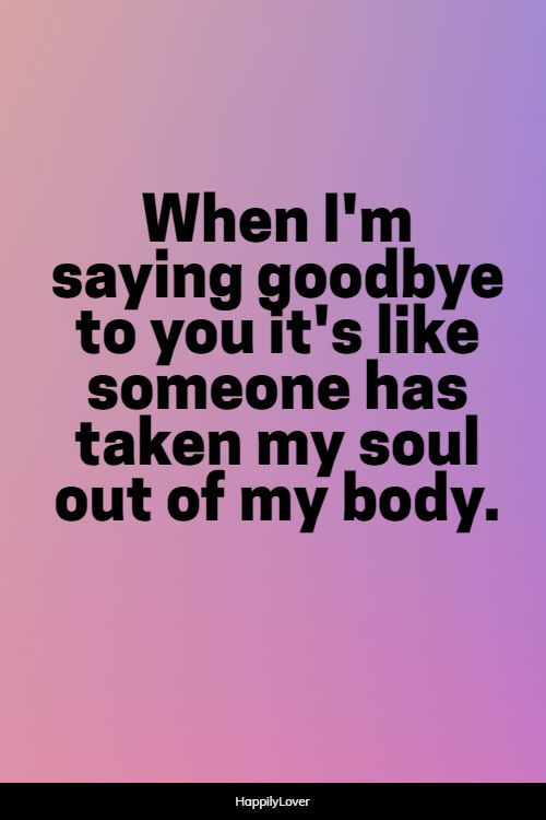 top goodbye quotes