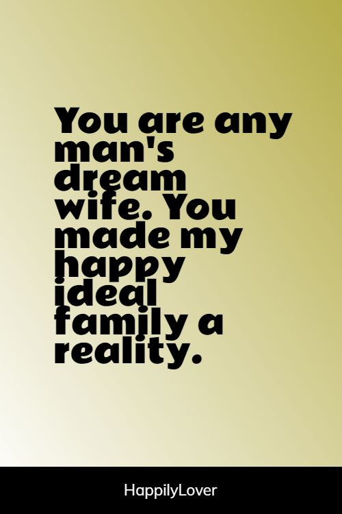 dream love quotes for wife