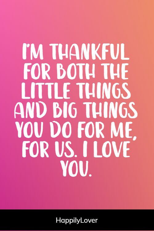 thankful appreciation quotes for her