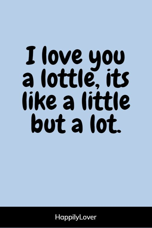 top funny love quotes for him
